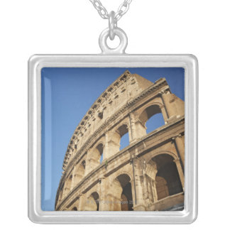Low angle view of Colosseum Silver Plated Necklace