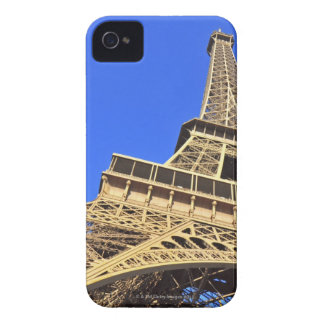 Low angle view of Eiffel Tower against blue sky 2 Blackberry Case