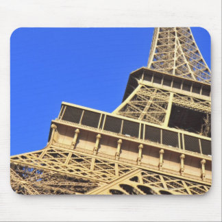 Low angle view of Eiffel Tower against blue sky 2 Mouse Pad