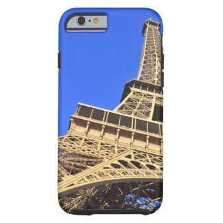 Low angle view of Eiffel Tower against blue sky 2 Tough iPhone 6 Case