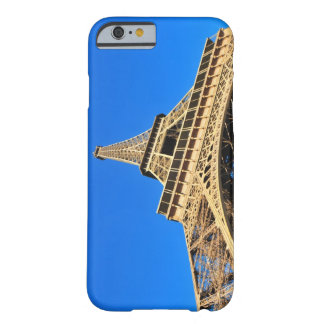 Low angle view of Eiffel Tower against blue sky Barely There iPhone 6 Case