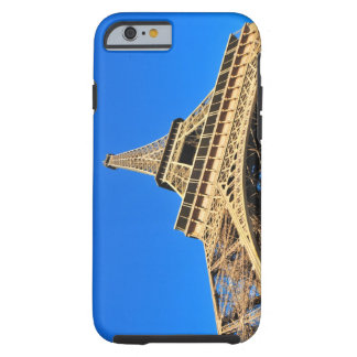 Low angle view of Eiffel Tower against blue sky iPhone 6 Case