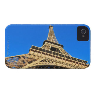 Low angle view of Eiffel Tower against blue sky Case-Mate Blackberry Case