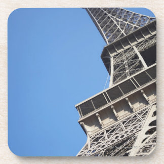 Low angle view of Eiffel Tower, Paris, France Beverage Coaster