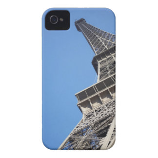 Low angle view of Eiffel Tower Paris France iPhone 4 Case-Mate Case