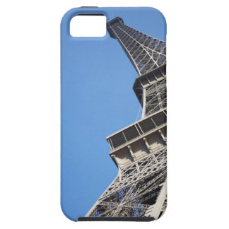 Low angle view of Eiffel Tower Paris France iPhone 5 Case