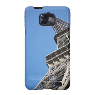Low angle view of Eiffel Tower Paris France Samsung Galaxy S Case