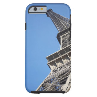 Low angle view of Eiffel Tower Paris France iPhone 6 Case