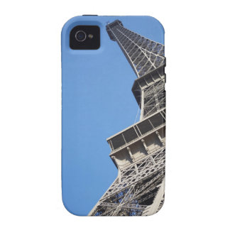 Low angle view of Eiffel Tower Paris France Case-Mate iPhone 4 Covers