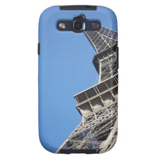 Low angle view of Eiffel Tower Paris France Samsung Galaxy SIII Case