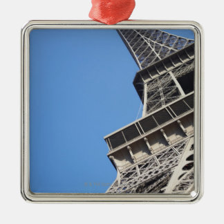 Low angle view of Eiffel Tower, Paris, France Metal Ornament