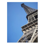 Low angle view of Eiffel Tower, Paris, France Postcard