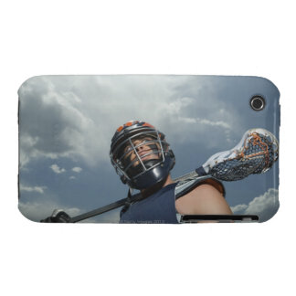 Low angle view of jai-alai player 2 iPhone 3 cover
