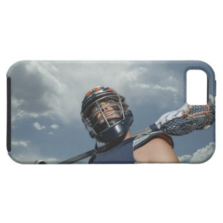 Low angle view of jai-alai player 2 iPhone SE/5/5s case