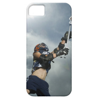 Low angle view of jai-alai player iPhone 5 cases
