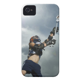 Low angle view of jai-alai player Case-Mate iPhone 4 case