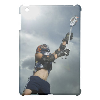 Low angle view of jai-alai player iPad mini cover