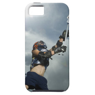 Low angle view of jai-alai player iPhone SE/5/5s case