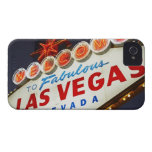 Low angle view of neon sign, Las Vegas, Nevada Case-Mate iPhone 4 Cases