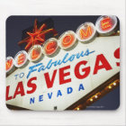 Low angle view of neon sign, Las Vegas, Nevada Mouse Pad