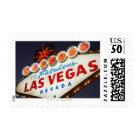 Low angle view of neon sign, Las Vegas, Nevada Postage