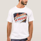 Low angle view of neon sign, Las Vegas, Nevada T-Shirt