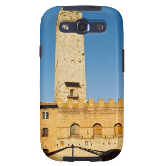Low angle view of tower of a building, samsung galaxy SIII covers