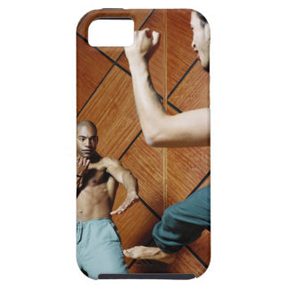 Low angle view of two young men practicing iPhone SE/5/5s case