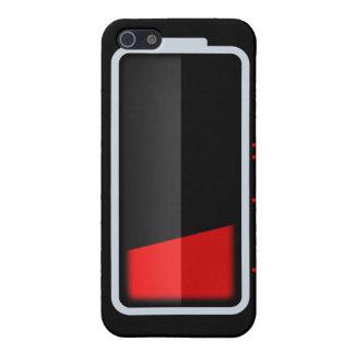 low Battery GEEK IPHONE 4 CASE