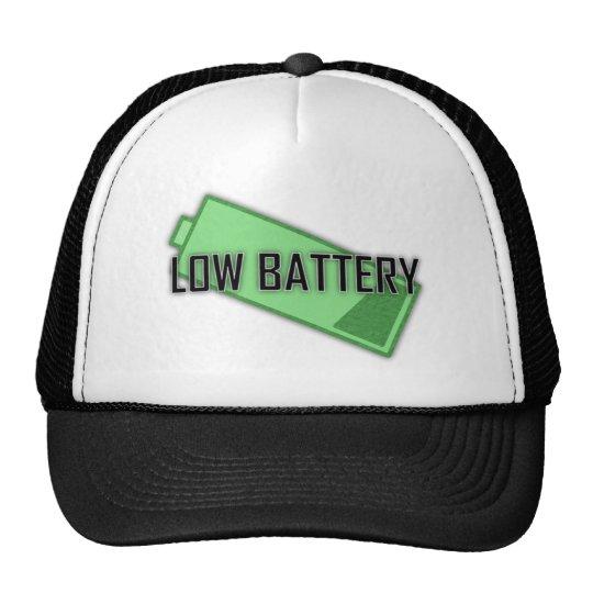 Low Battery Hat