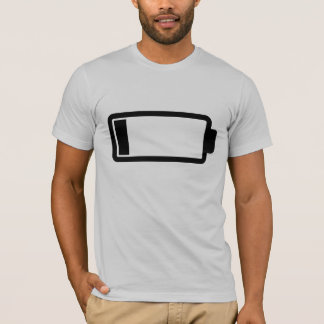 Low Battery - Light T-Shirt & Menu0027s Low Battery T-Shirts | Zazzle azcodes.com