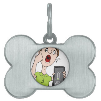 Low Battery Smart Phone Alert Pet Tag