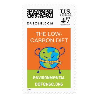 Low-Carbon Diet, EnvironmentalDefense.org Postage