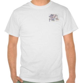 Low Cost Bird Flu Awareness Word Cloud T Shirt