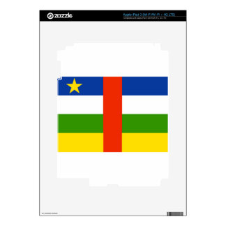 Low Cost! Central African Republic Flag Decal For iPad 3