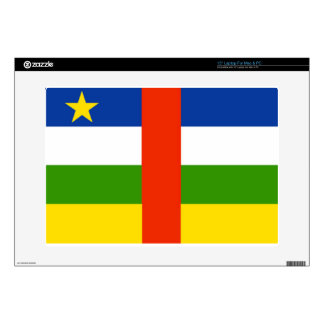 Low Cost! Central African Republic Flag Decal For Laptop