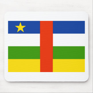Low Cost! Central African Republic Flag Mouse Pad