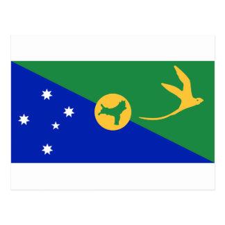 Low Cost! Christmas Island Flag Postcard