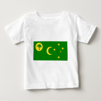 Low Cost! Cocos Island Flag Baby T-Shirt
