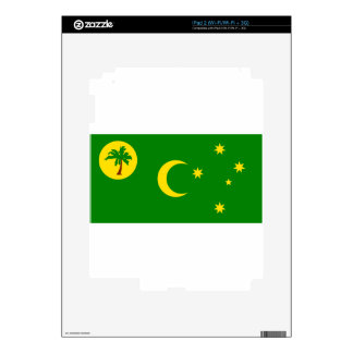 Low Cost! Cocos Island Flag iPad 2 Skin