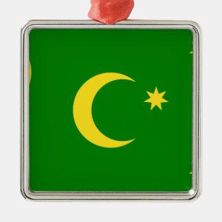 Low Cost! Cocos Island Flag Metal Ornament