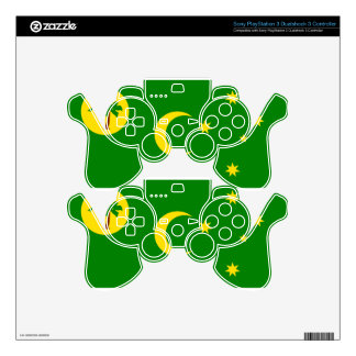 Low Cost! Cocos Island Flag Skins For PS3 Controllers