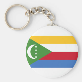 Low Cost! Comoros Flag Keychain