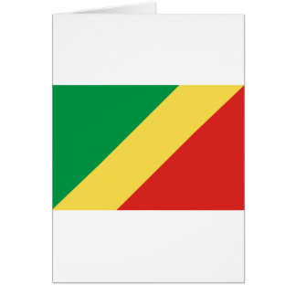 Low Cost! Congo Flag Card