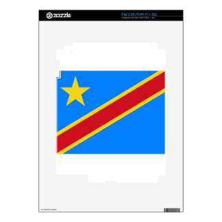 Low Cost! Congo Flag Decals For iPad 2
