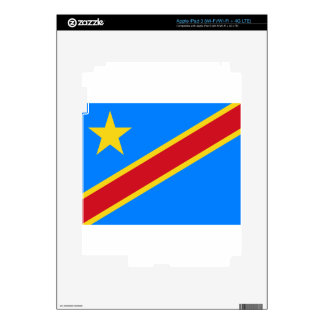 Low Cost! Congo Flag iPad 3 Decals