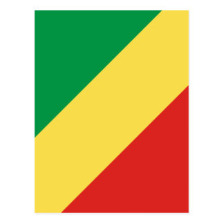 Low Cost! Congo Flag Postcard