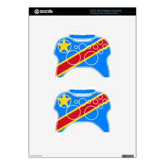 Low Cost! Congo Flag Xbox 360 Controller Decal