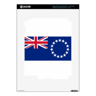 Low Cost! Cook Islands Flag Decals For iPad 3