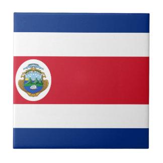 Low Cost! Costa Rica Flag Ceramic Tile